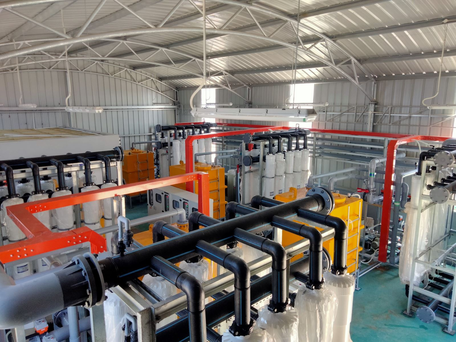 NHFM - Specific filtration for hatchery production.